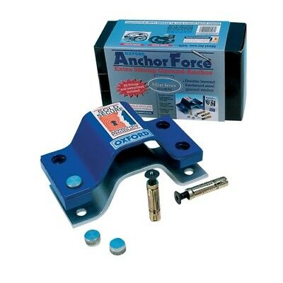 Oxford Anchor Force Bolt Down Ground anchor Motorcycle Motorbike Security OF440