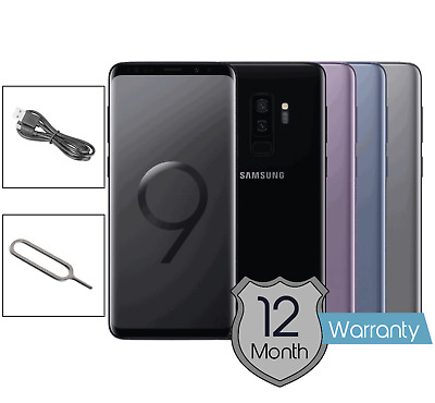 Samsung Galaxy S9+ Plus - 64GB - 128GB - Single & Dual SIM Options - Unlocked