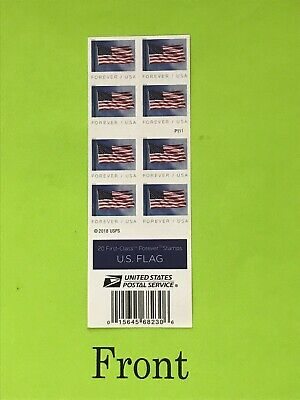 2019 USPS Flag Forever Book Of 20 Stamps Face Value $11.00 Free Shipping
