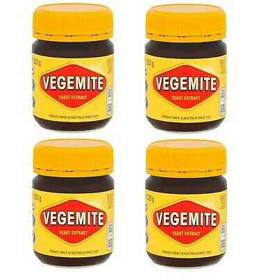 PACK OF 4 Kraft Vegemite Concentrated Yeast Extract 4 Jars 220G