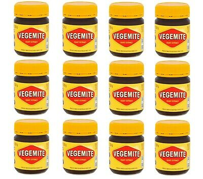 PACK OF 12 Kraft Vegemite Concentrated Yeast Extract 12 Jars 220G