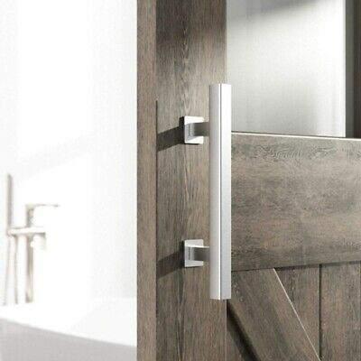 Heavy Duty 12 Inches Square and Flush Two Side Barn Door Handle for D8Q5