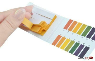 160 Strips Full pH 1-14 Test Paper Litmus Testing Kit Alkaline > Acid Aquarium