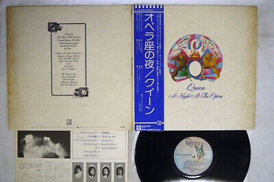 QUEEN A NIGHT AT THE OPERA ELEKTRA P-10075E Japan OBI VINYL LP