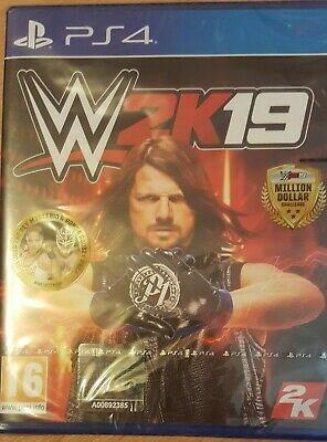 Wwe 2K19 Brand New & Sealed Ps4 W/ Rey Mysterio And Ronda Rousey Preorder Bonus