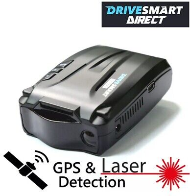 Drivesmart Evo GPS and Laser Speed Camera Detector Free Lifetime Updates