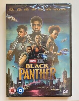 Marvel Black Panther DVD [2018] UK : NEW in wrapping