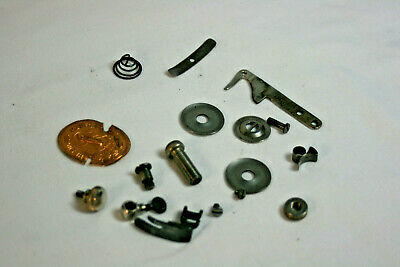 Singer 99K Sewing Machine Parts Lot Hinged Foot Thread Regulator Plate Spring