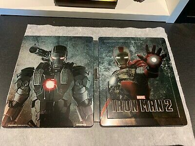 Iron Man 2 Bluray Steelbook Marvel Lenticulaire exclusif Zavvi