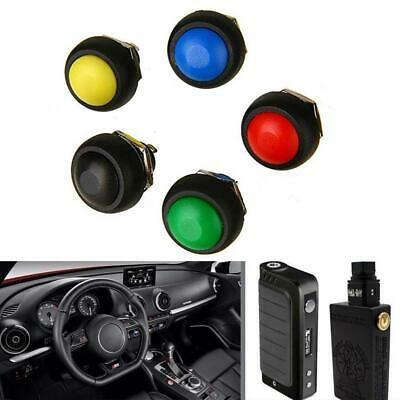 5Pcs colored 12mm Waterproof Momentary ON/OFF Push Button Mini Round best