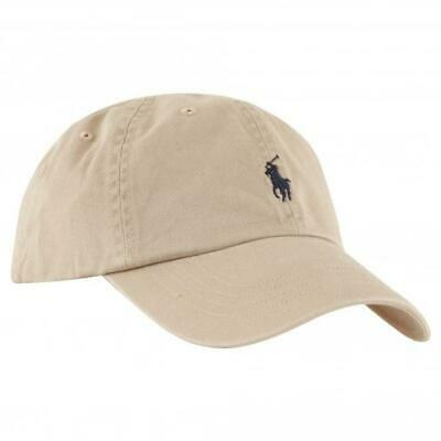 Ralph Lauren Baseball Cap In Beige With Small Black Pony - Adults - One Size