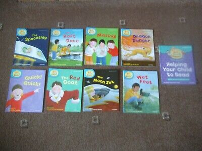 OXFORD  Read With BIFF, CHIP & KIPPER 8 x Level 4 PB Book First Stories & Phonic