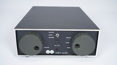 Naim Audio NAC-42 Stereo Preamplifier - MM Phono Stage - Vintage Chrome Bumper
