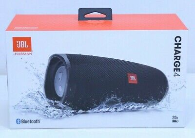 JBL Charge 4 Rechargeable Portable Waterproof Wireless Bluetooth Speaker - NEW