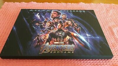 Coffret AVENGERS 4 : ENDGAME édition Blu-ray steelbook UHD 4K + goodies