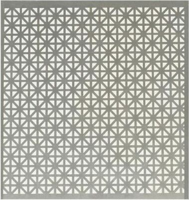 3 Pack Decorative Union Jack Style 1'x2' Perforated Sheet Metal Rust Resistant