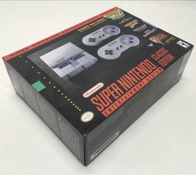 Nintendo SNES Classic Edition Mini Super NES System - 200 games