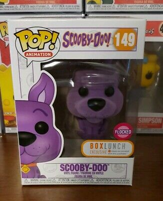 Funko Pop! Animation Scooby Doo Purple Flocked #149 Box Lunch Exclusive Figure