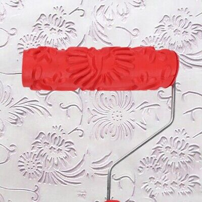 Paint Roller Runner Brush Wall Painting Handle Rubber Edger Room DIY Decor Tools
