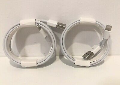 2-Pack Original OEM Apple iPhone Lightning Cable 2m 6ft USB Charging Cord