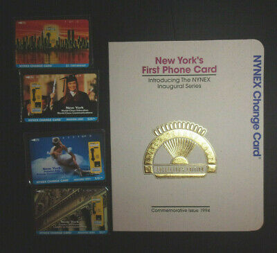 NYNEX Inaugural Series phone cards in original package prepaid 1994 ID#2066