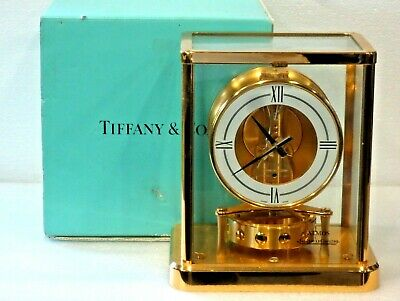 """Fully Clean Serviced Jaeger Lecoultre 540 """"Elysee Tiffany"""" Atmos #688Xxx Working"""
