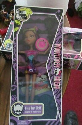 Monster High Clawdeen Wolf NEW IN BOX 2010