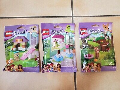 LEGO Friends : Series 3 - New /& Sealed Complete Set - 41023, 41024, 41025