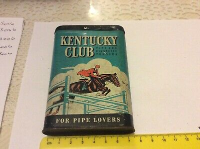 Vintage Kentucky Club Tobacco Tin