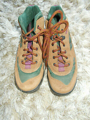 Hi-tec Womens Walking Hiking Shoes Penrith Waterproof Trainers Suede Scout UK4-8