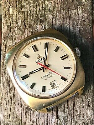Doxa by Synchron gold plated Conquistador Automatic watch