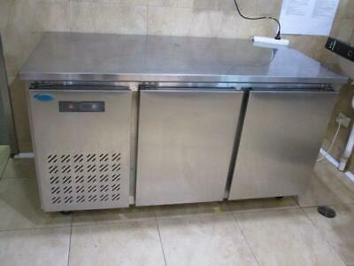 Ice Blue Model: Ubz-1575 Commercial Under Bar Freezer Stainless Steel Bench Top
