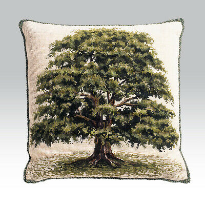 EHRMAN OAK TREE by DAVID MERRY - TAPESTRY NEEDLEPOINT KIT - DISCONTINUED