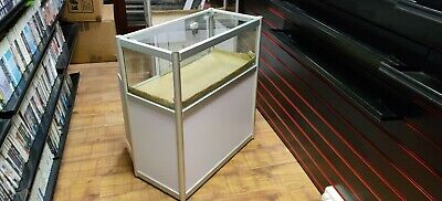 Glass Showcase Retail Shop Display Counter Cabinet x1