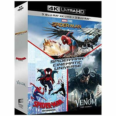 4K - SPIDER-MAN CINEMATIC UNIVERSE - Blu Ray neuf sous blister