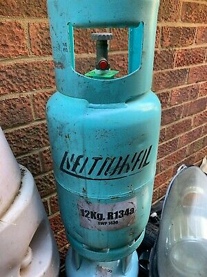 R-134a Gas  EMPTY Refrigerant Refillable Cylinders 12Kg