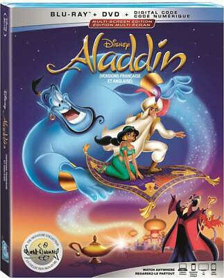 ALADDIN Signature Edition (Animated) [Blu-ray+DVD+Digital] New !! (Free Shipping
