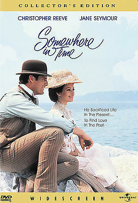 SOMEWHERE IN TIME (Collector's Edition DVD, 2000) Christopher Reeve~Jane Seymour
