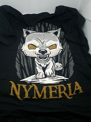 Funko Pop Nymeria Game of Thrones T Shirt Hot Topic Exclusive L Large