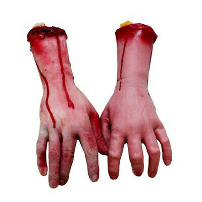 Halloween Decorations Props Realistic Bloody Body Part Prop Horror Arm Hands