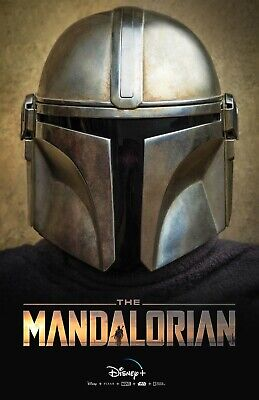 Star Wars The Mandalorian poster (b)  -  11 x 17 inches