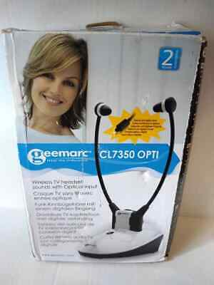 Geemarc CL7350/STETHO Amplified TV Headset