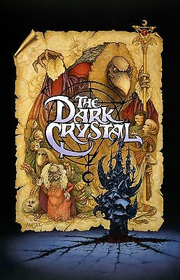 """The Dark Crystal movie poster (c)  : 11"""" x 17"""" inches : Jim Henson"""