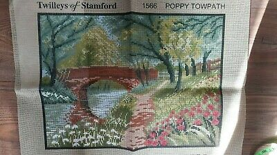 Twilleys of Stamford Tapestry Canvas - Poppy Towpath