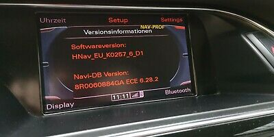 Audi MMI 3G High Software & Navi Update 2019 A4, A5, A6, A8, Q5, Q7