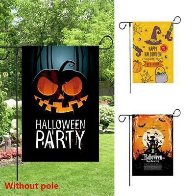 Flag Banner Decor Pumpkin Halloween Thanksgiving Welcome Party Home New