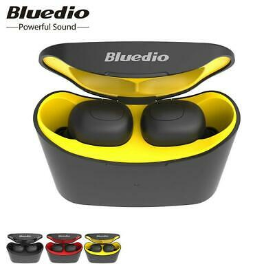 Bluedio 5.0 T-elf Air pod Bluetooth Sports Wireless Earphones with charging New
