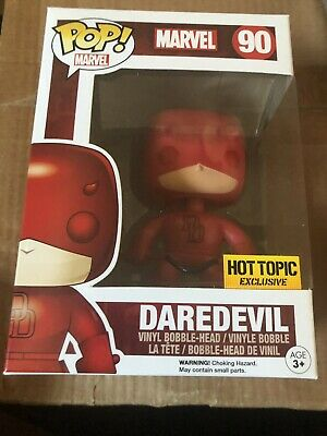 Funko POP! Marvel Daredevil 90 Hot Topic Exclusive with FREE Protector!