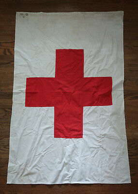 WW2 German Wehrmacht soldier flag banner Heer WW1 Army Officer Red Cross pennant