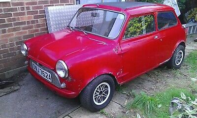 Mini mk1 sprint roof chop Morris -1275 cooper s race rally competition